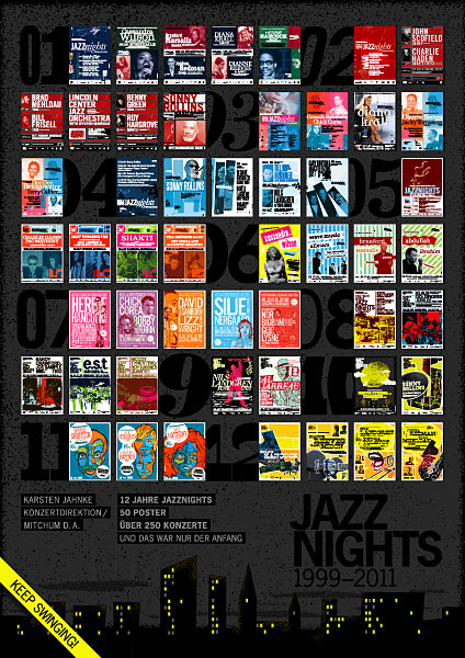 12 years anniversary JazzNights Poster