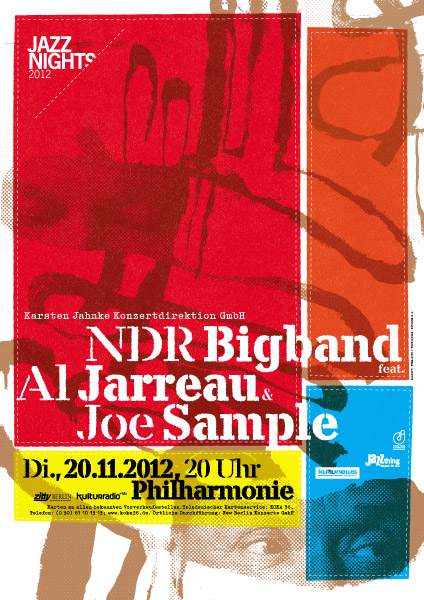 NDR Bigband / Al Jarreau / Joe Sample Poster