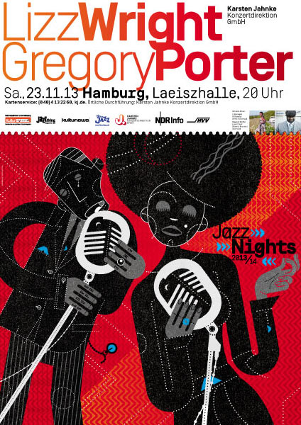 Lizz Wright / Gregory Porter Poster