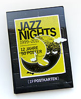 JazzNights poster postcard set
